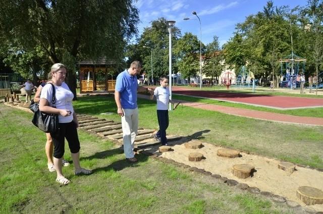 Park orientacji przestrzennej w Owińskach.