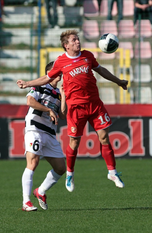 Adrian Budka dziewięć razy występował przeciw ŁKS