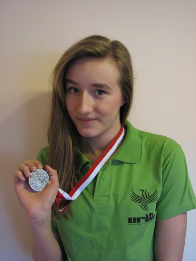 Joanna Wojciechowska (LUKS Orlik Lublin) została wicemistrzynią Polski na dystansie 400 m stylem dowolnym