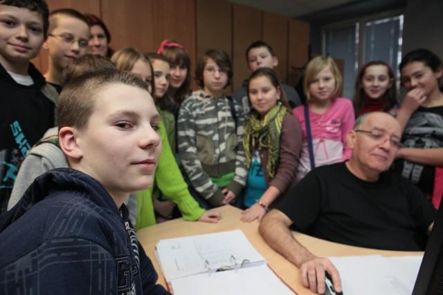 Uczniowie SP 203 z wizytą w naszej redakcji