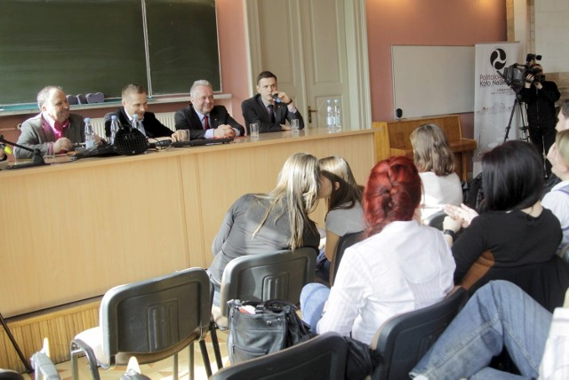 Debata na Wydziale Politologii UMCS