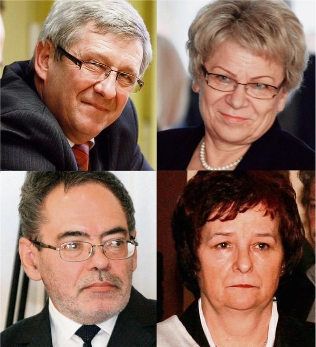 Ignacy Bochenek, Ewa Szymańska, Zbigniew Dudek, Ewa Czeszejko-Sochacka