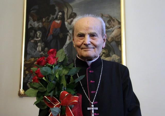 Arcybiskup senior Bolesław Pylak świętował w sobotę 91. urodziny