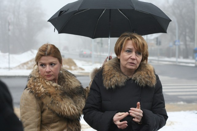 W czwartek prezydent Hanna Zdanowska postanowiła sprawdzić, jak prowadzone są roboty na ul. Rudzkiej.