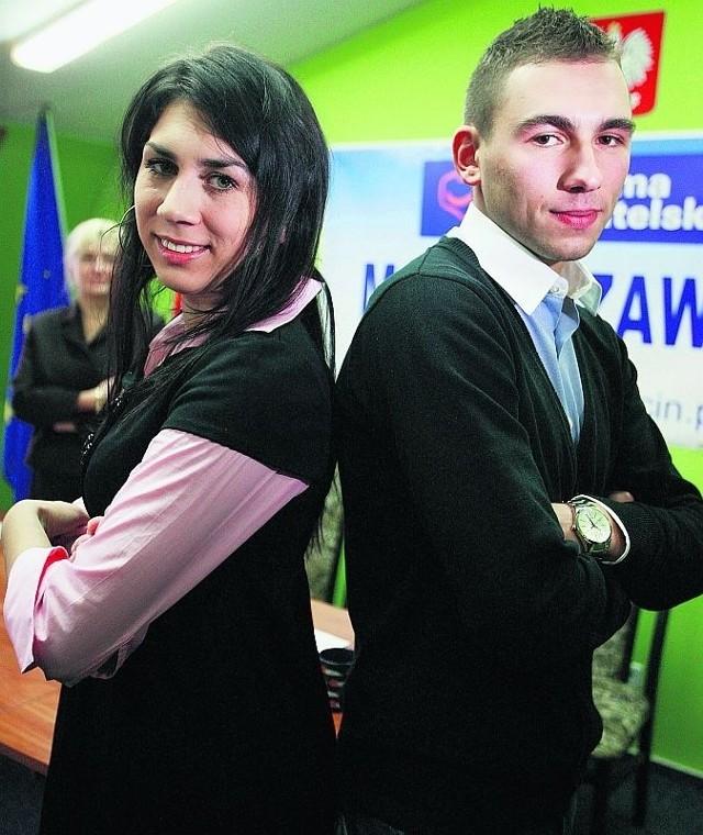 Mateusz i Karolina wystartują w wyborach z list PO