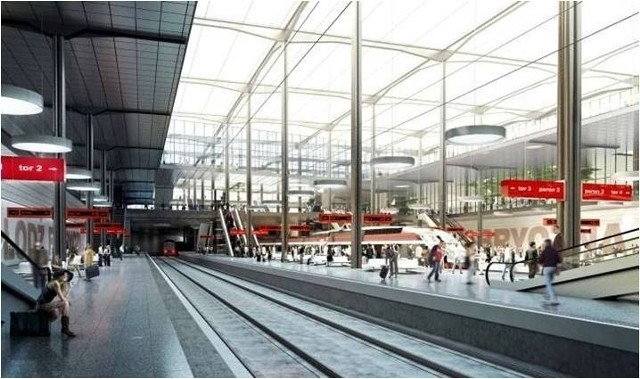 Tak ma wyglądać dworzec Łódź Fabryczna
