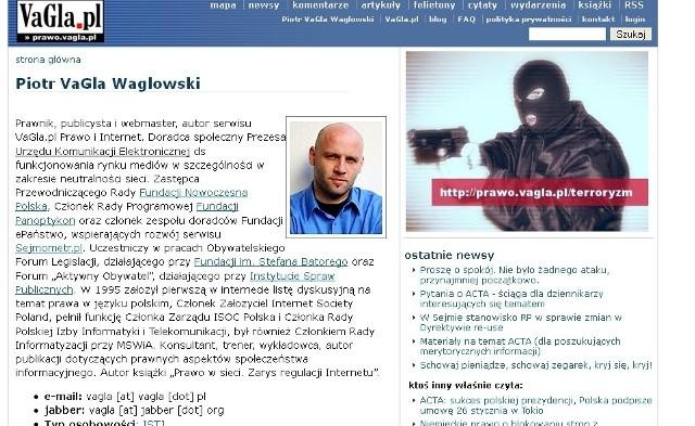 """Blog Piotra """"VaGla"""" Waglowskiego"""