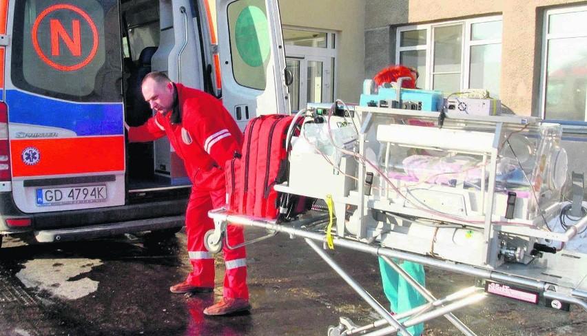 Ta karetka ratuje życie najmniejszym pacjentom z całego Pomorza