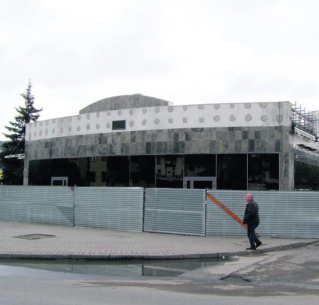 Prywatna inwestycja - dworzec PKS w Mszanie Dolnej