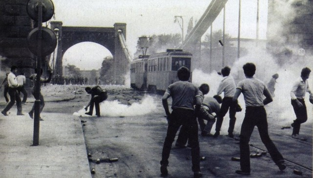 31 sierpnia 1982  Starcia z ZOMO na Moście Grunwaldzkim