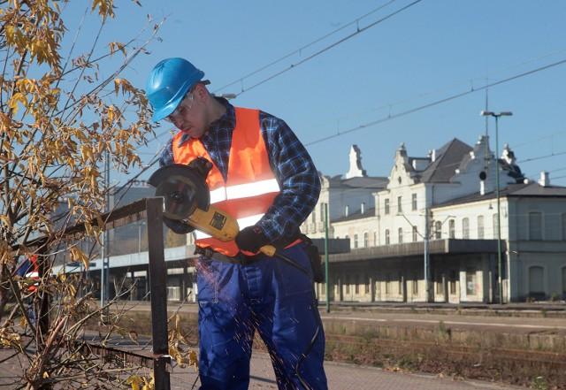 Początek prac na placu budowy Fabrycznego