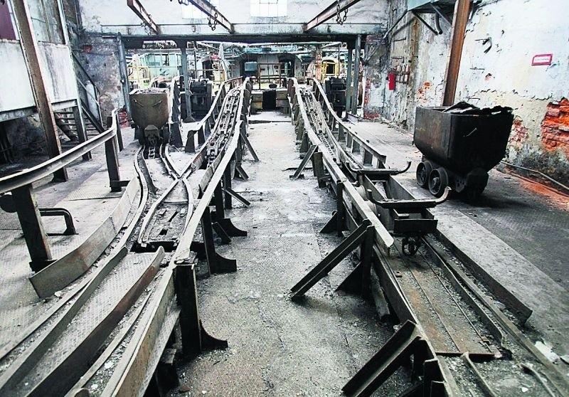 Większość obiektów XIX-wiecznej kopalni Julia w Wałbrzychu jest obecnie zrujnowana