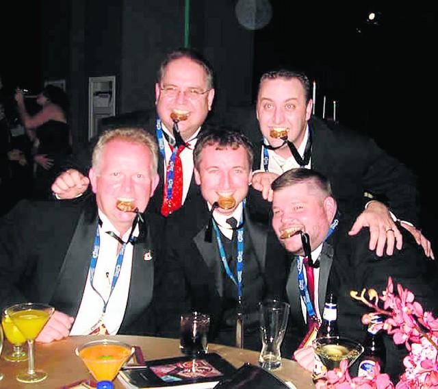 Zespół Jana Góry, czyli  John Gora Band,  odnosi sukcesy w kategorii polish polka (Jan Góra - pierwszy z lewej)