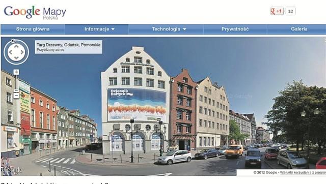 Panoramiczne zdjęcie Gdańska