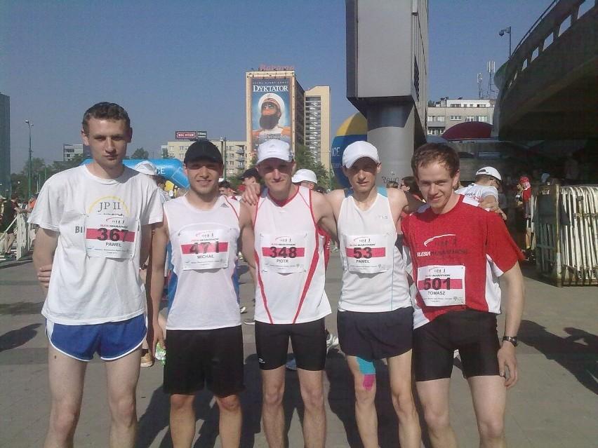 Biegacze z Lublina zanotowali znakomity występ podczas katowickiego Silesia Marathon 2012