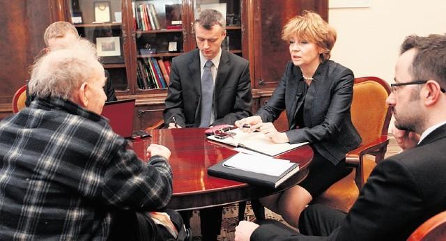 Prezydent Hanna Zdanowska przyjmowała w środę łodzian.