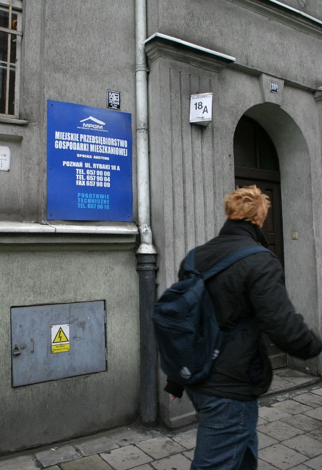 Kamienicą przy ulicy Potockiej od ponad 30 lat zarządzał MPGM