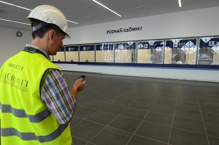 Dworzec główny w Poznaniu jest już prawie gotowy na przyjęcie pasażerów.