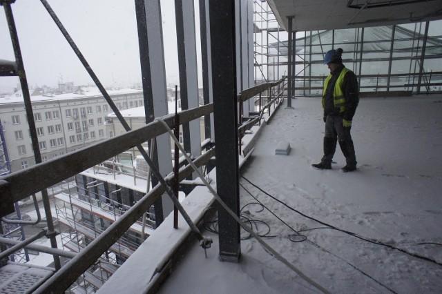 Do końca lutego Galeria MM będzie już pod dachem