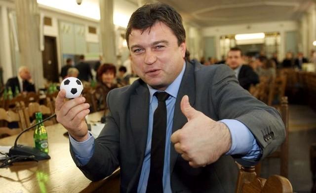 Roman Kosecki, poseł PO, były piłkarz, dobrze ocenia przygotowania Poznania do Euro 2012