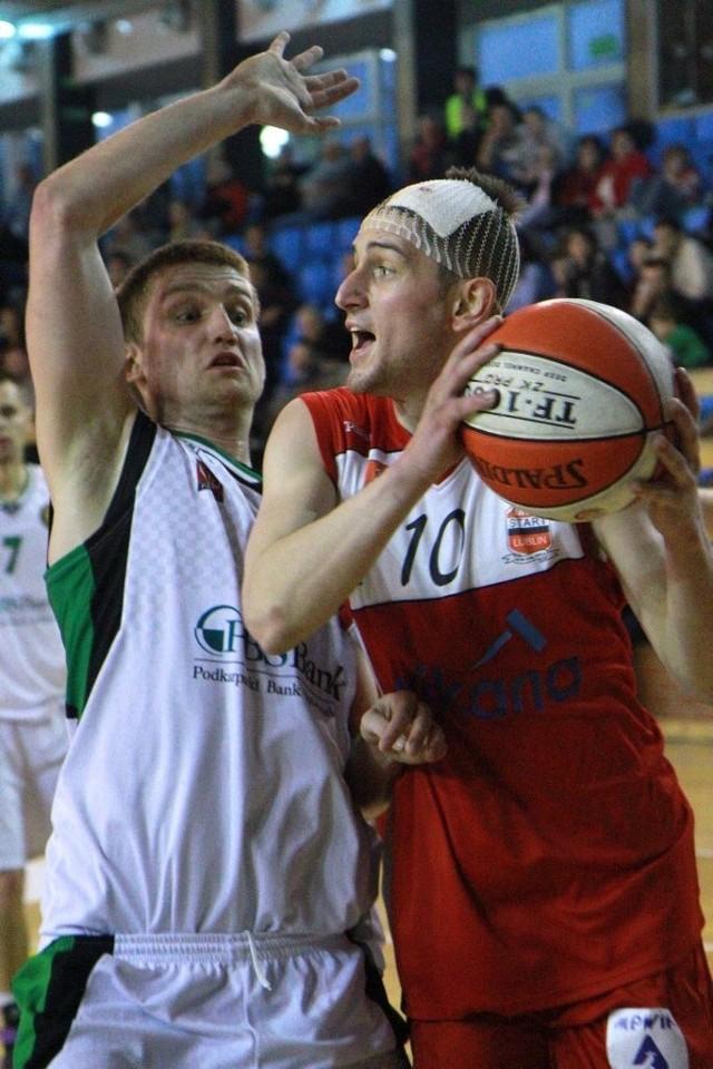 Koszykówka: Porażka Startu Lublin. Sytuacja zrobiła się trudna