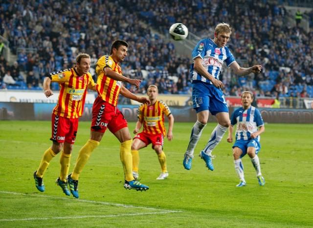 Lech w Poznaniu wygrał z Jagiellonią 4:1