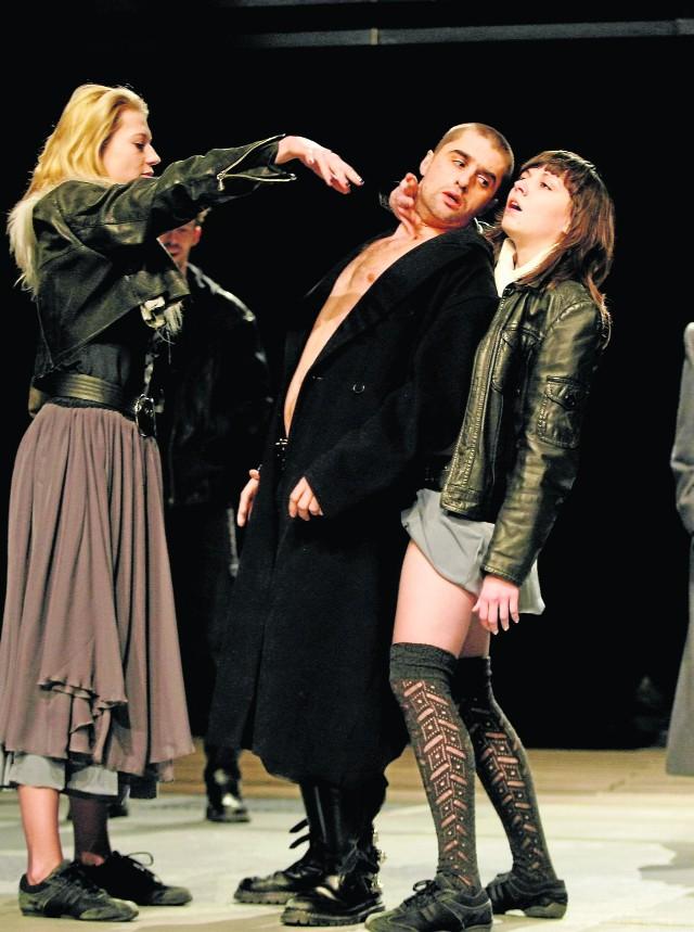 Na zdjęciu: Aleksandra Dytko, Krzysztof Zych i Jolanta Solarz