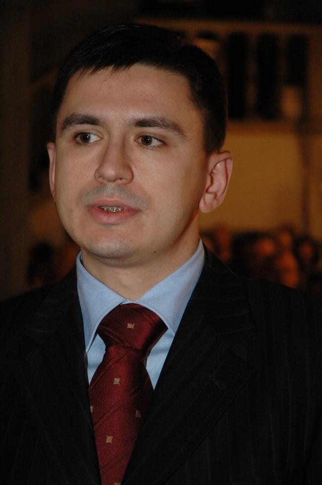 Przemysława Foligowski, przewodniczący komisji