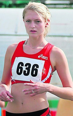 Karolina Gronau (Start Lublin) udanie zainaugurowała swoje pierwsze tegoroczne starty