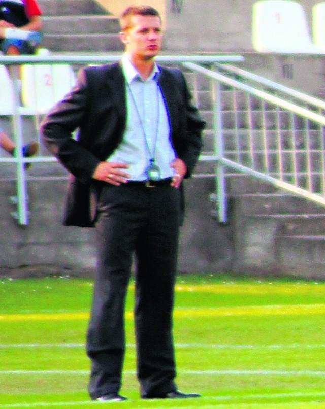 Piotr Stach poprowadził Zagłębie w drugiej lidze w 12. meczach