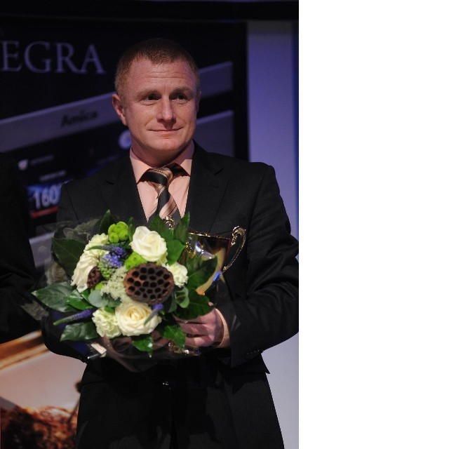 Trener Grzegorz Dziubek