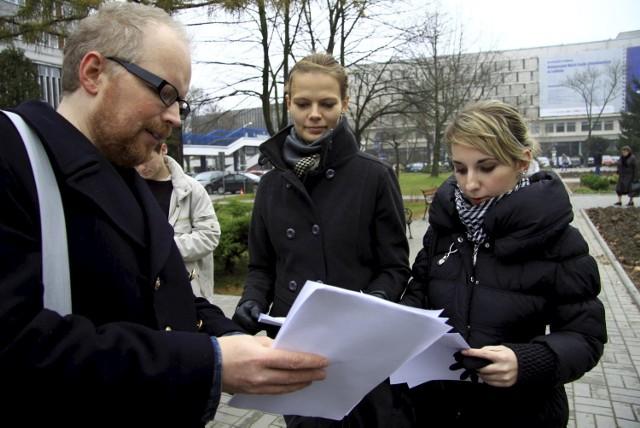 W Lublinie akcja ograniczyła się do rozdawania ulotek i kserokopii pisma DZS