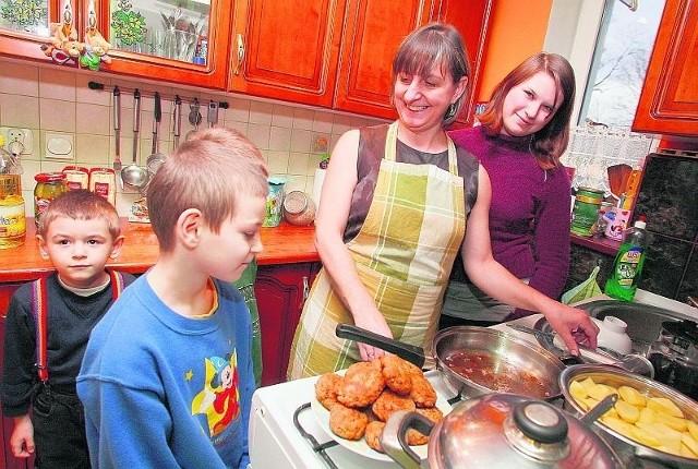 W rodzinie państwa Wróblów wydatki są kontrolowane i budżet domowy mądrze zarządzany