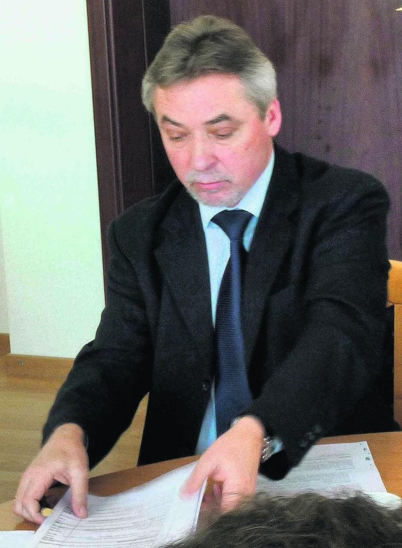 Wądołowski, jak zwykle, nie wypowiada się o przebiegu procesu