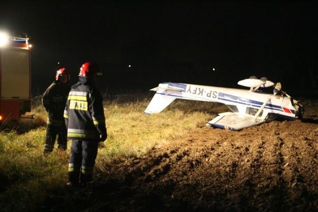 Samolot spadł w okolicach Lublinka