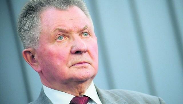 Longin Pastusiak jest szykowany na lokomotywę wyborczą w okręgu gdańskim