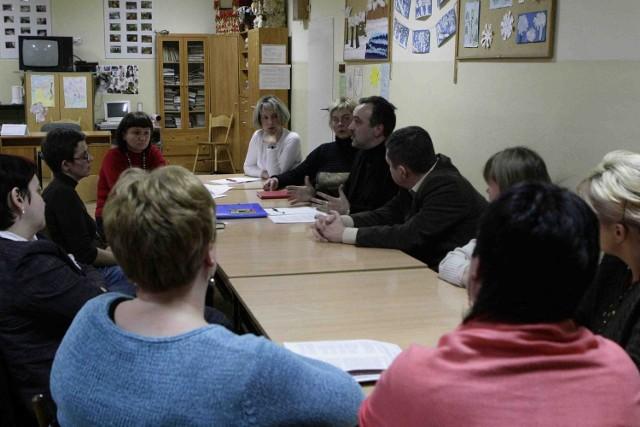 Rada Rodziców SP nr 1 podczas spotkania