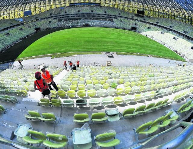 PGE Arena Gdańsk ciągle czeka na otwarcie. Pierwszy mecz zaplanowano na 23 lipca