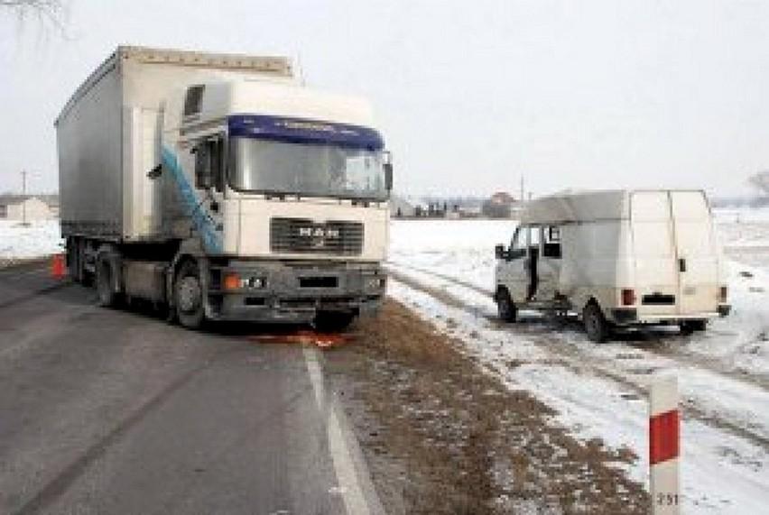 Wypadek w Borkach