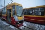 Na Limanowskiego tramwaj potrącił kobietę [ZDJĘCIA]