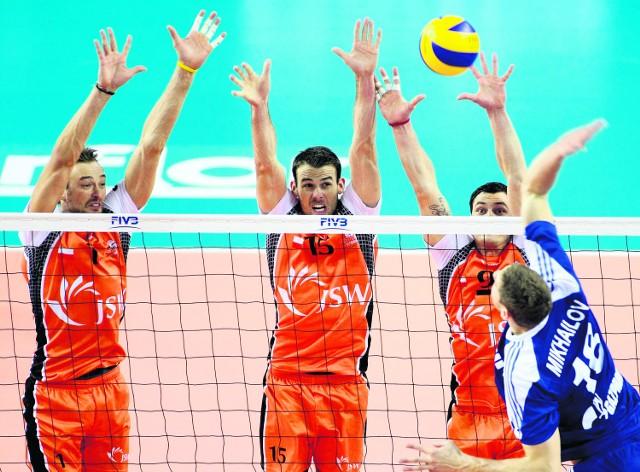 Zwycięstwo Jastrzębskiego Węgla nad Zenitem stanowi na razie największą sensację turnieju