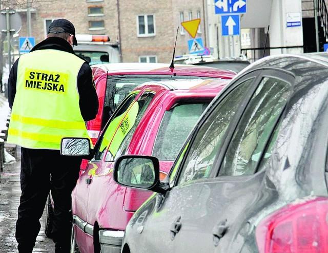 W centrum miasta kierowcy muszą się mieć na baczności