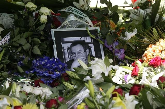 Pogrzeb Tadeusza Skutnika na cmentarzu Srebrzysko w Gdańsku