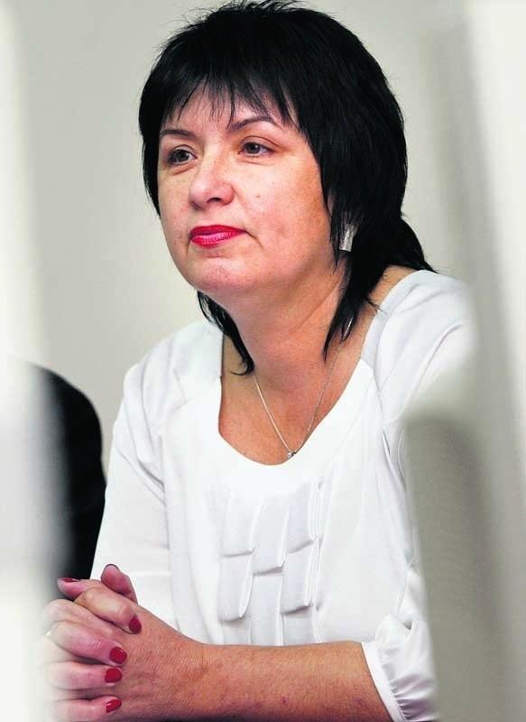 Grażynę Ostrowską wystawia ChIS