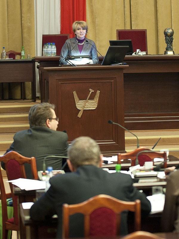 Uchwałę przyjęto na sesji Rady Miejskiej w Łodzi