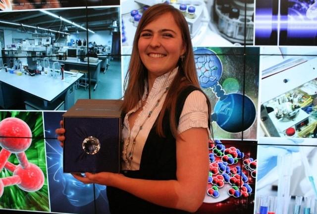 Anna Stroynowska, studentka V roku biotechnologii na Uniwersytecie Przyrodniczym