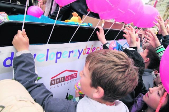 Deweloperzy organizują m.in. festyny dla dzieci