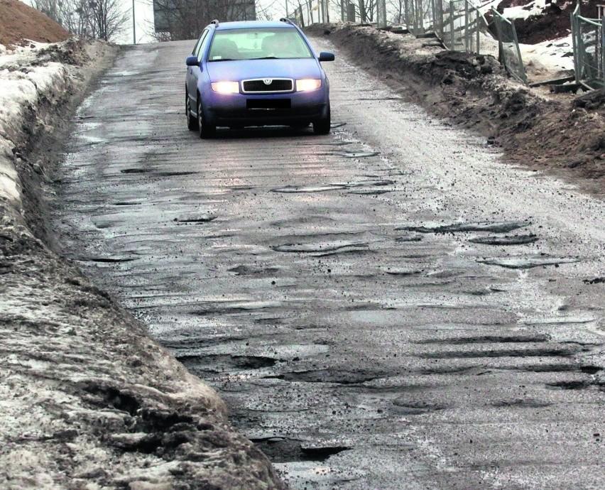 Najbardziej dziurawe ulice zostaną naprawione za kilka...