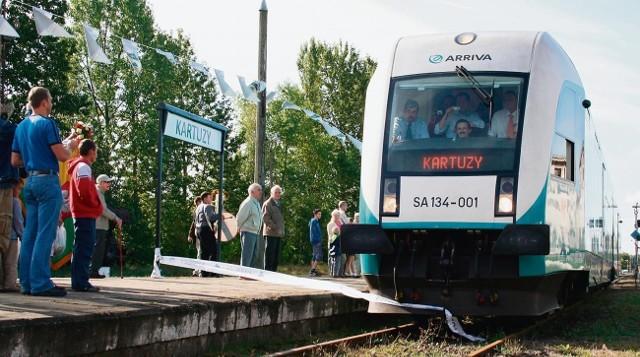 Dzięki projektowi Pomorskiej Kolei Metropolitalnej pociąg z Gdańska do Kartuz ma jechać ok. 45 minut