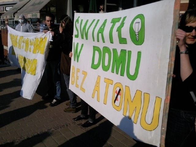 Gdańsk: Demonstrowali przeciwko budowie elektrowni jądrowych